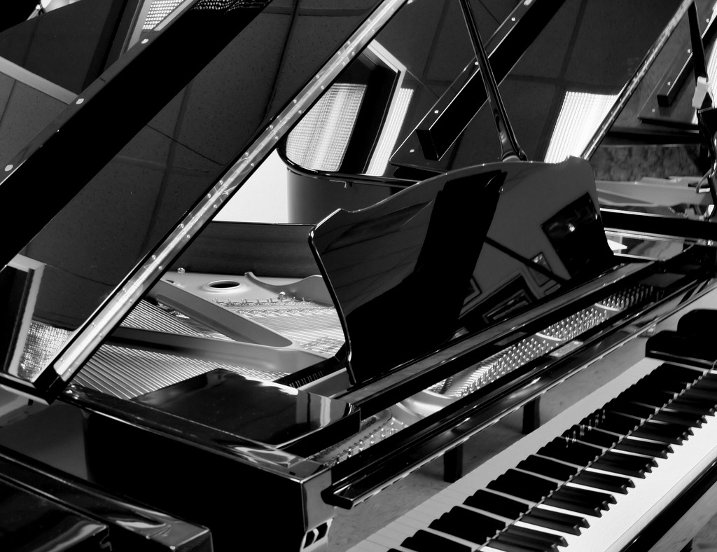 piano � bwvision � black and white fine art photography