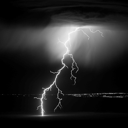 Buy White and black photography lightning picture trends