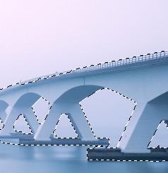 Quick Selection On The Bridge