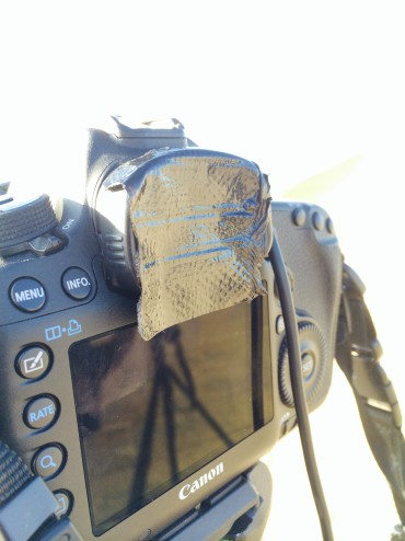 light leakage covered viewfinder