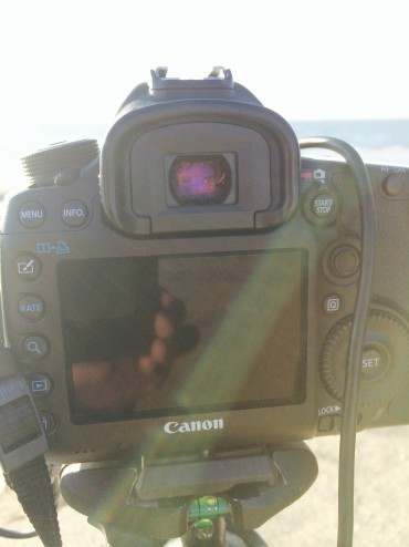 light leakage uncovered viewfinder