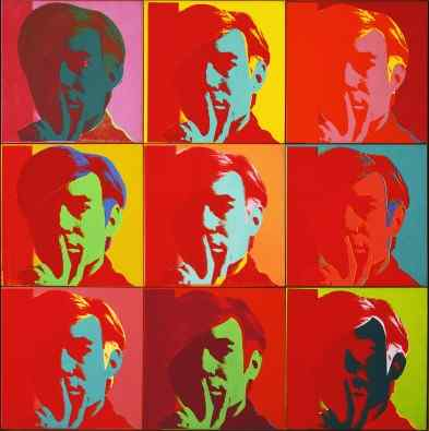 Andy Warhol Self Portrait 1966
