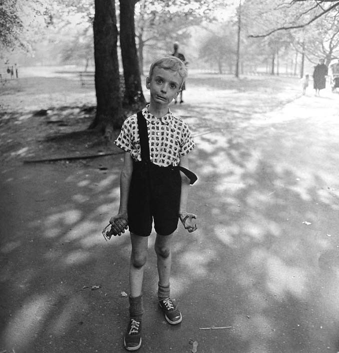 Diane Arbus Child With Toy Hand Grenade R