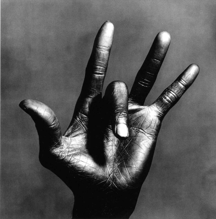 Irving Penn The Hand of Miles Davis