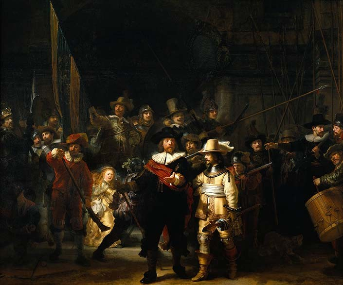 Rembrandt Nightwatch