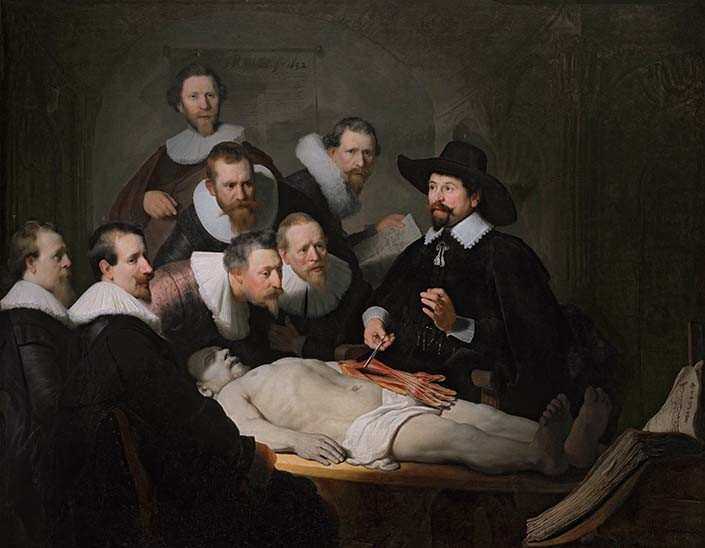 Rembrandt the anatomy lesson
