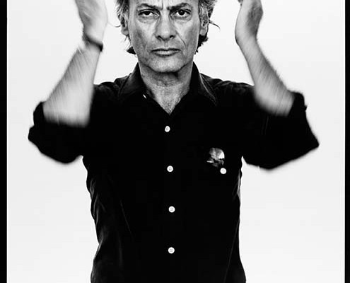 Richard Avedon, self-portrait, Photographer, Provo, Utah, August