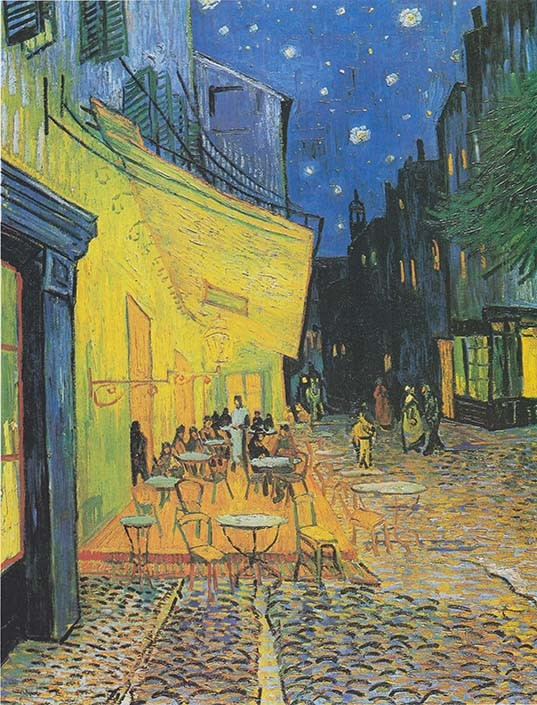 Vincent-van-Gogh-Cafe-Terras-At-Night-1888R