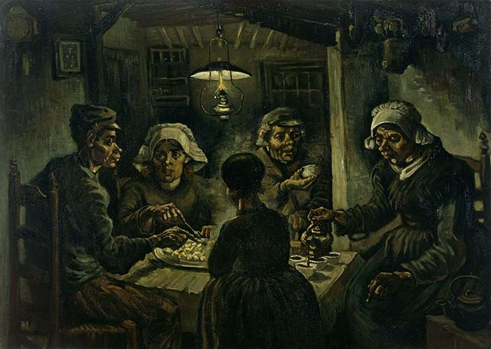 Vincent-van-Gogh-The-Potato-Eaters-1885R