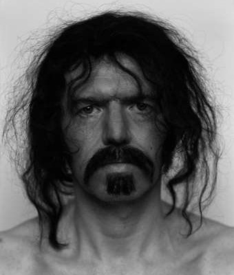 Anton Corbijn Self Portrait as Frank Zappa