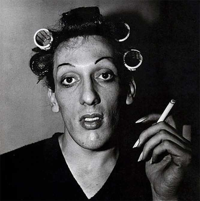 Diane Arbus Guy With Curls