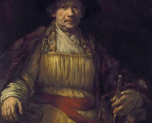 Rembrandt Lighting Self Portrait