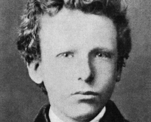 Vincent van Gogh Portrait at age 13