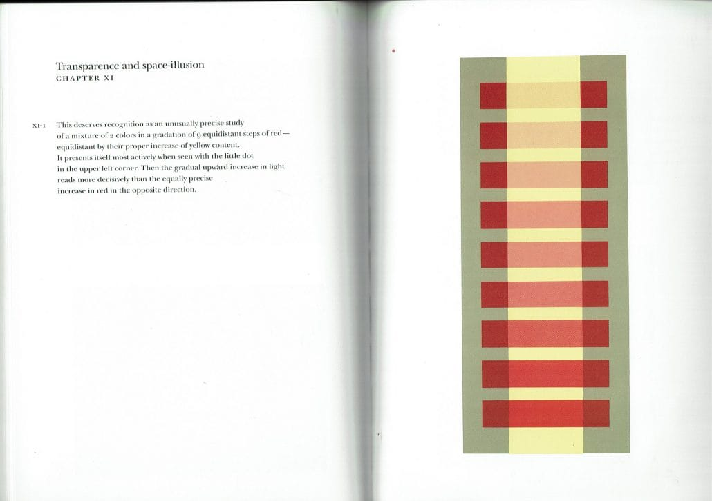 Josef Albers Interaction of Color Chapter XI