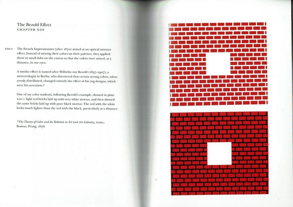 Josef Albers Interaction of Color Chapter XIII