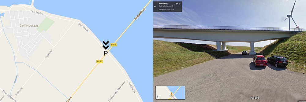 Parking Zeeland Bridge
