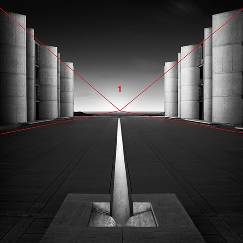 The Salk Institute San Diego California Single Point Perspective