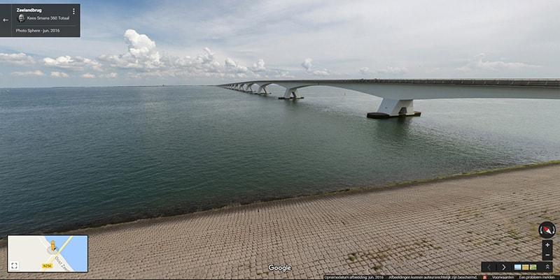 Zeeland Bridge View