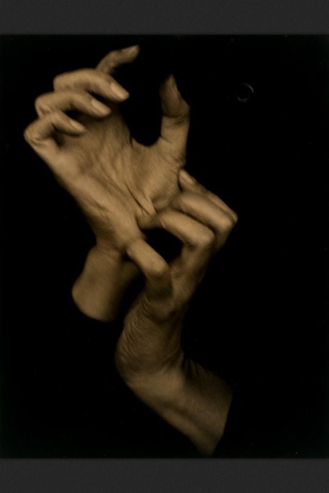 Alfred Stieglitz Georgia Okeeffes Hands