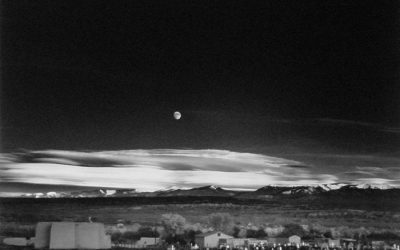 Ansel Adams Moonrise Hernandez New Mexico