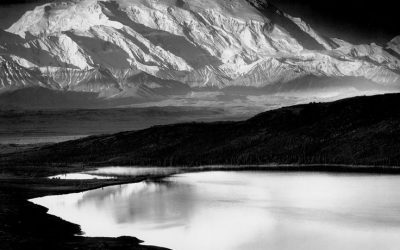 Ansel Adams Mt McKinley Wonder Lake