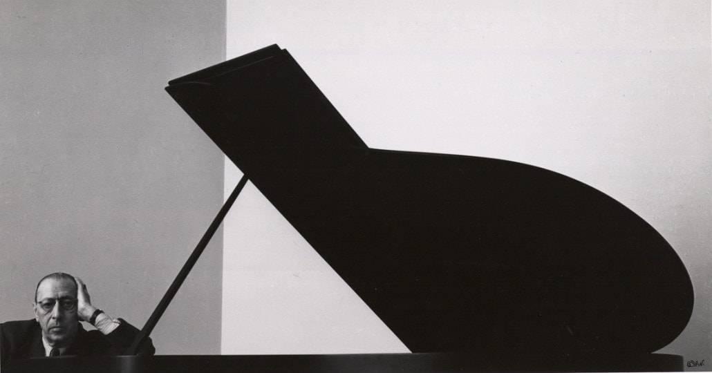 Arnold Newman Igor Stravinsky