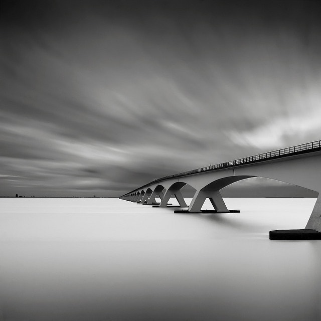 Zeeland Bridge Long Exposure
