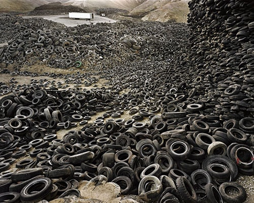 Oxford Tire Pile by Edward Burtynsky