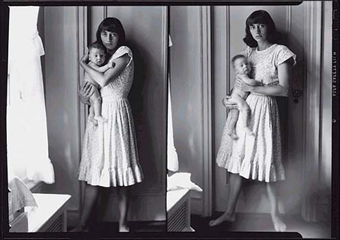 Diane arbus double self portrait