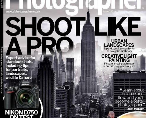 Digital Photographer Magazine UK cover photo November 2014 – New York City skyline