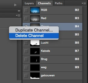 duplicate channel in photoshop