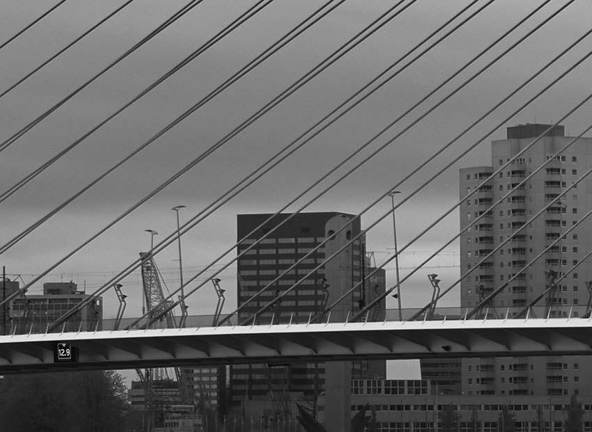 Crop of the Erasmus Bridge 2