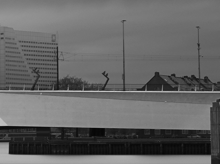 Crop of the Erasmus Bridge