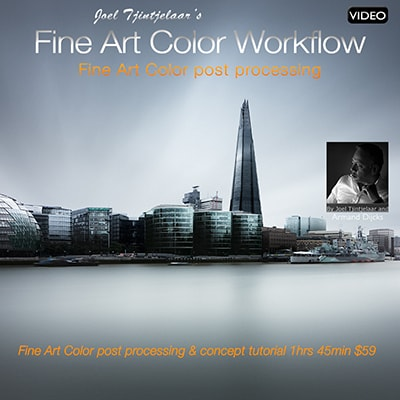 fine art color workflow post processing video tutorial