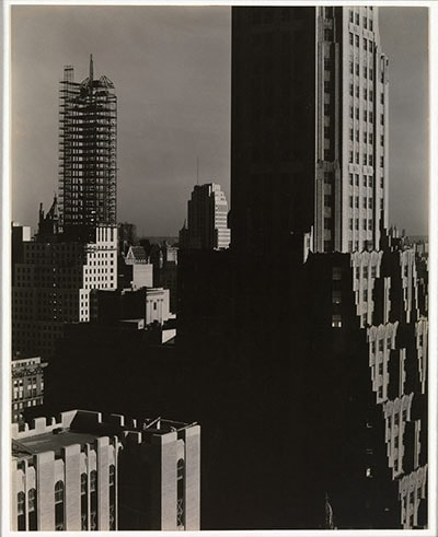 From My Window at the Shelton, North Alfred Stieglitz 1931