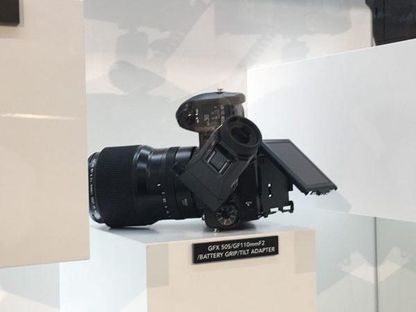 Fujifilm GFX 50S Back