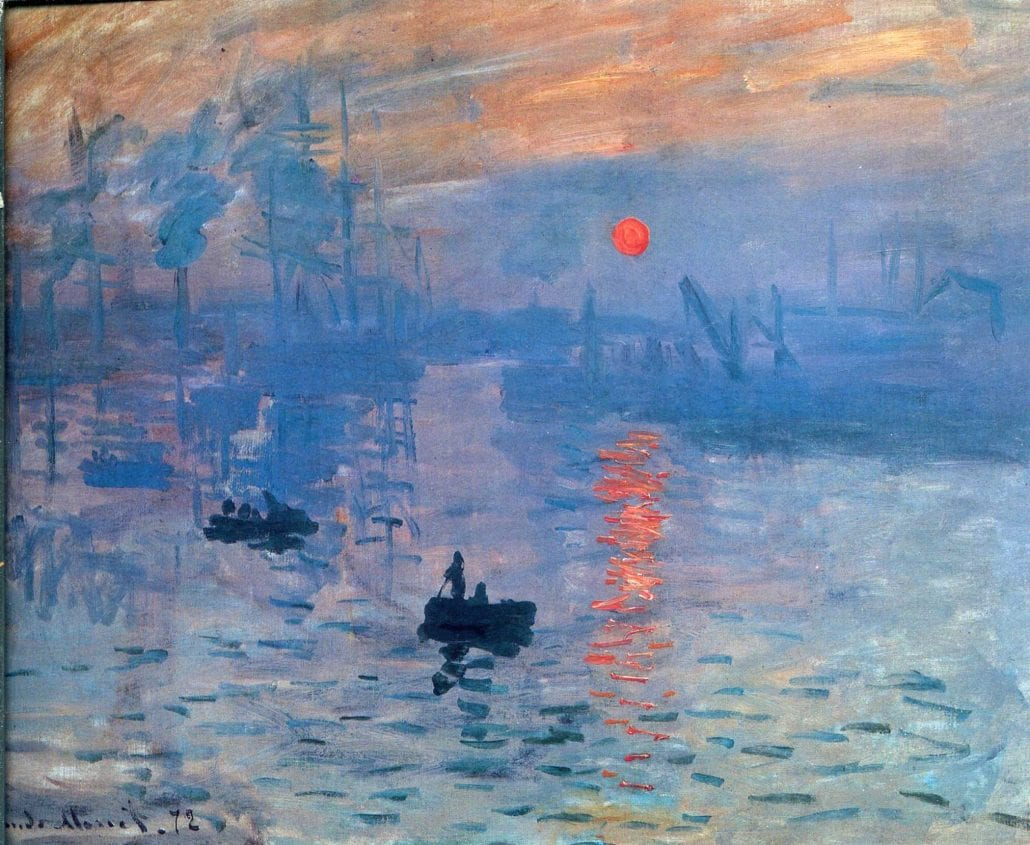 Impression Sunrise Monet