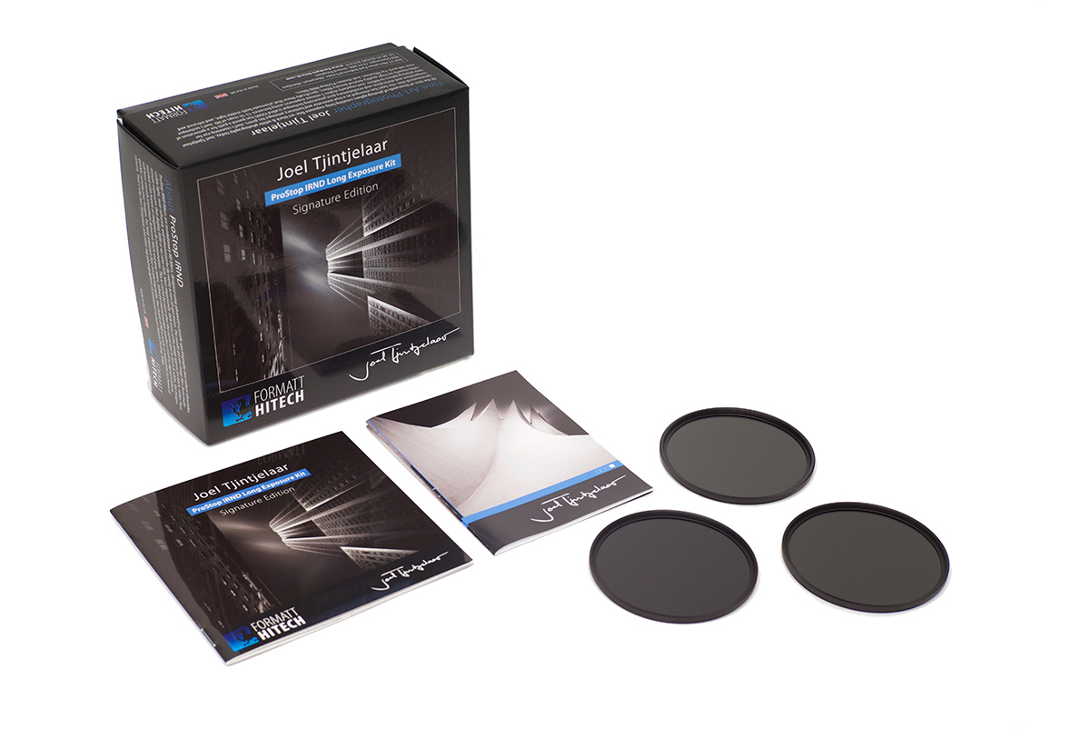 Joel tjintjelaar neutral density filters kit