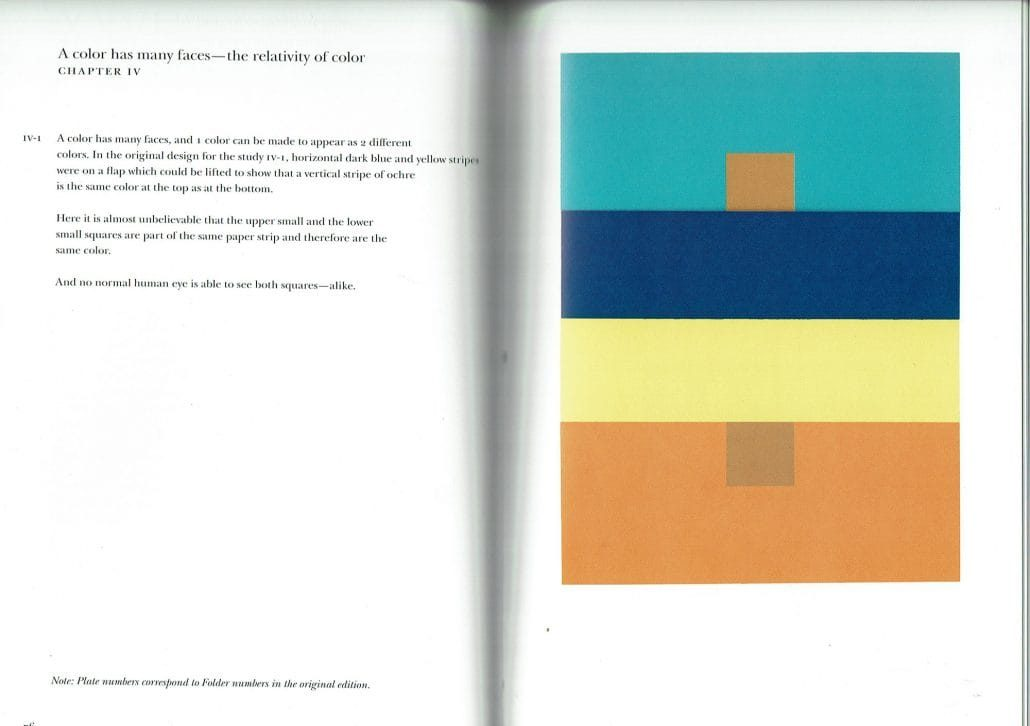 Josef Albers Interaction of Colors Chapter IV