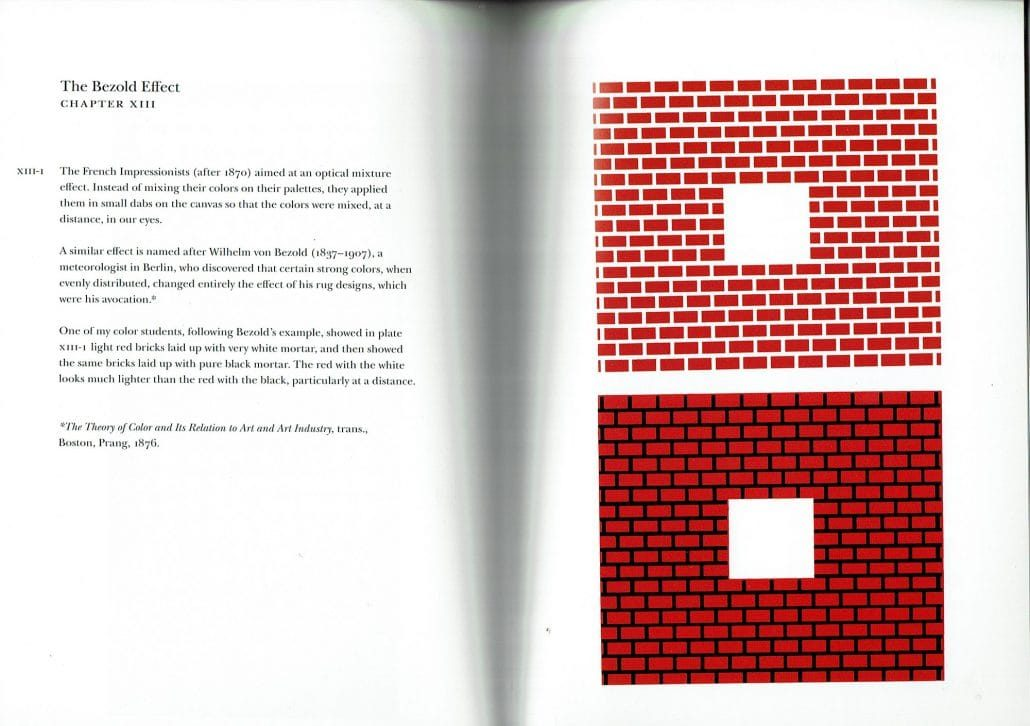 Josef Albers Interaction of Colors Chapter XIII