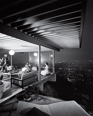Julius Shulman Case Study House no 22 Los Angeles 1960