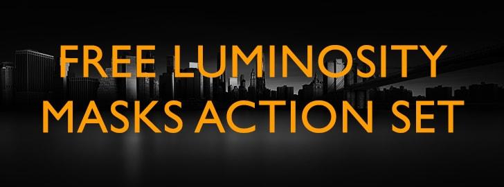 free luminosity masks action set