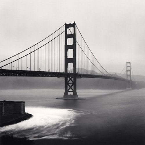 Michael Kenna Golden Gate Bridge Study 14 San Francisco California USA 1990