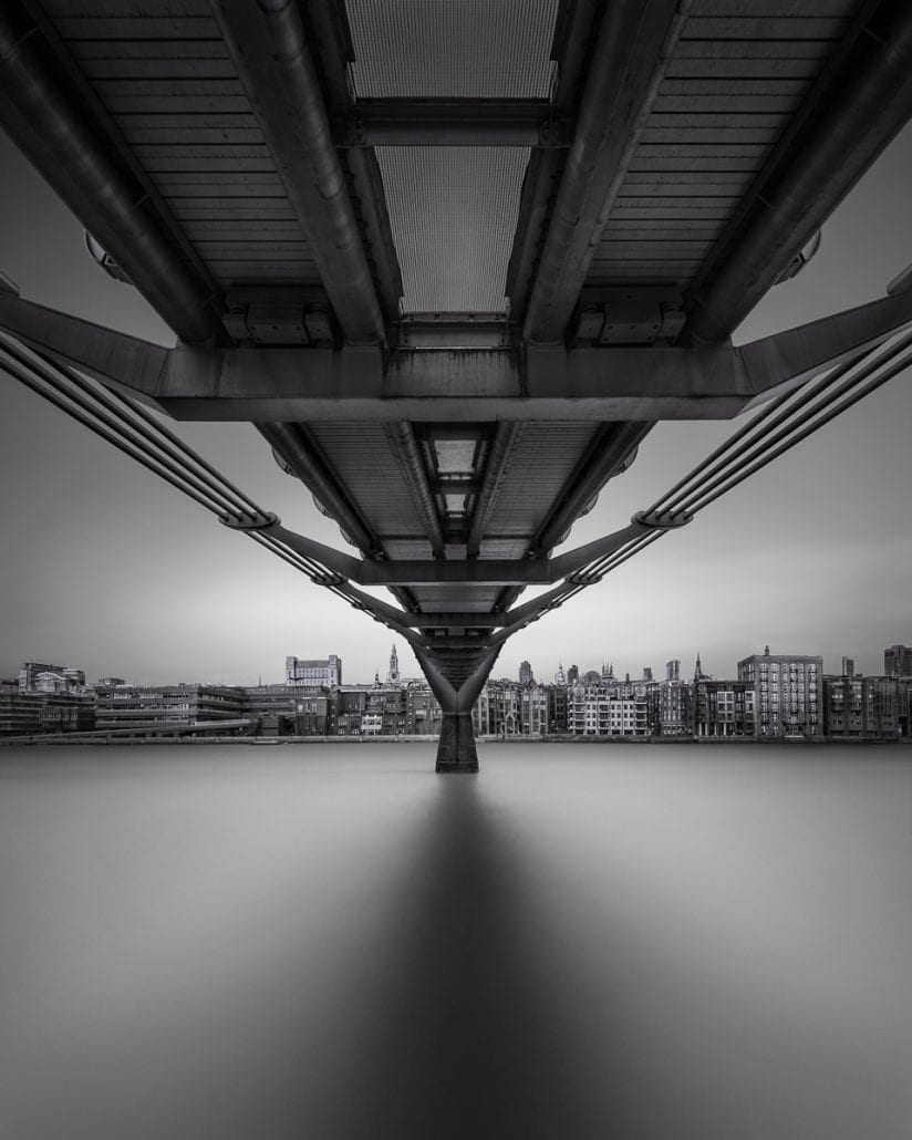 Millenium Bridge, London (c) Julia Anna Gospodarou