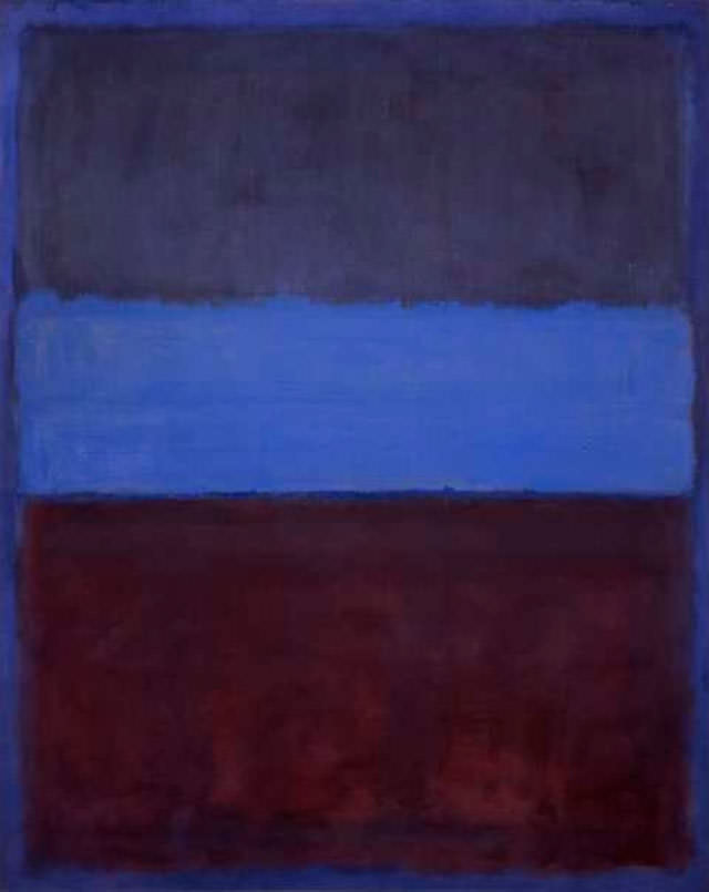No 61 by Mark Rothko