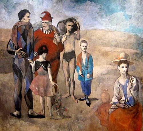Pablo Picasso Family of Saltimbanques