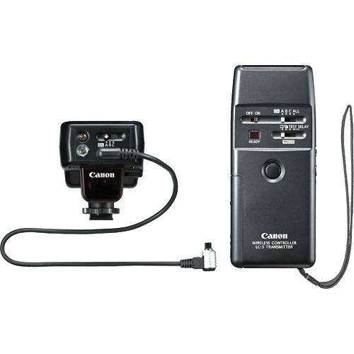canon wireless shutter remote release