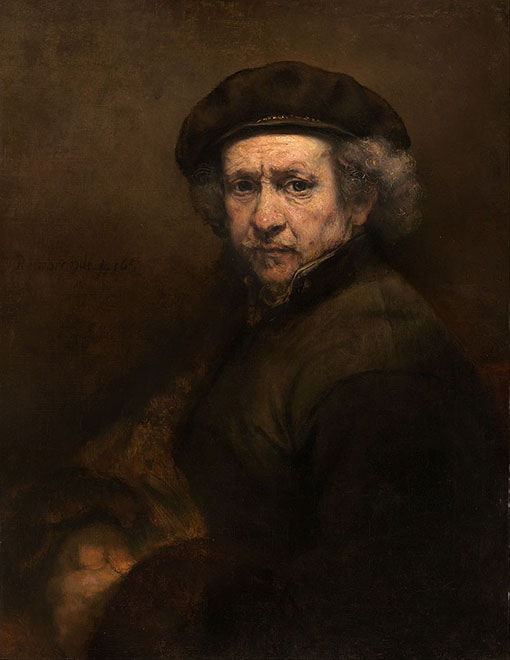 Rembrandt van Rijn Self Portrait 1659