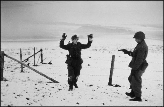 Robert Capa Belgium 1944