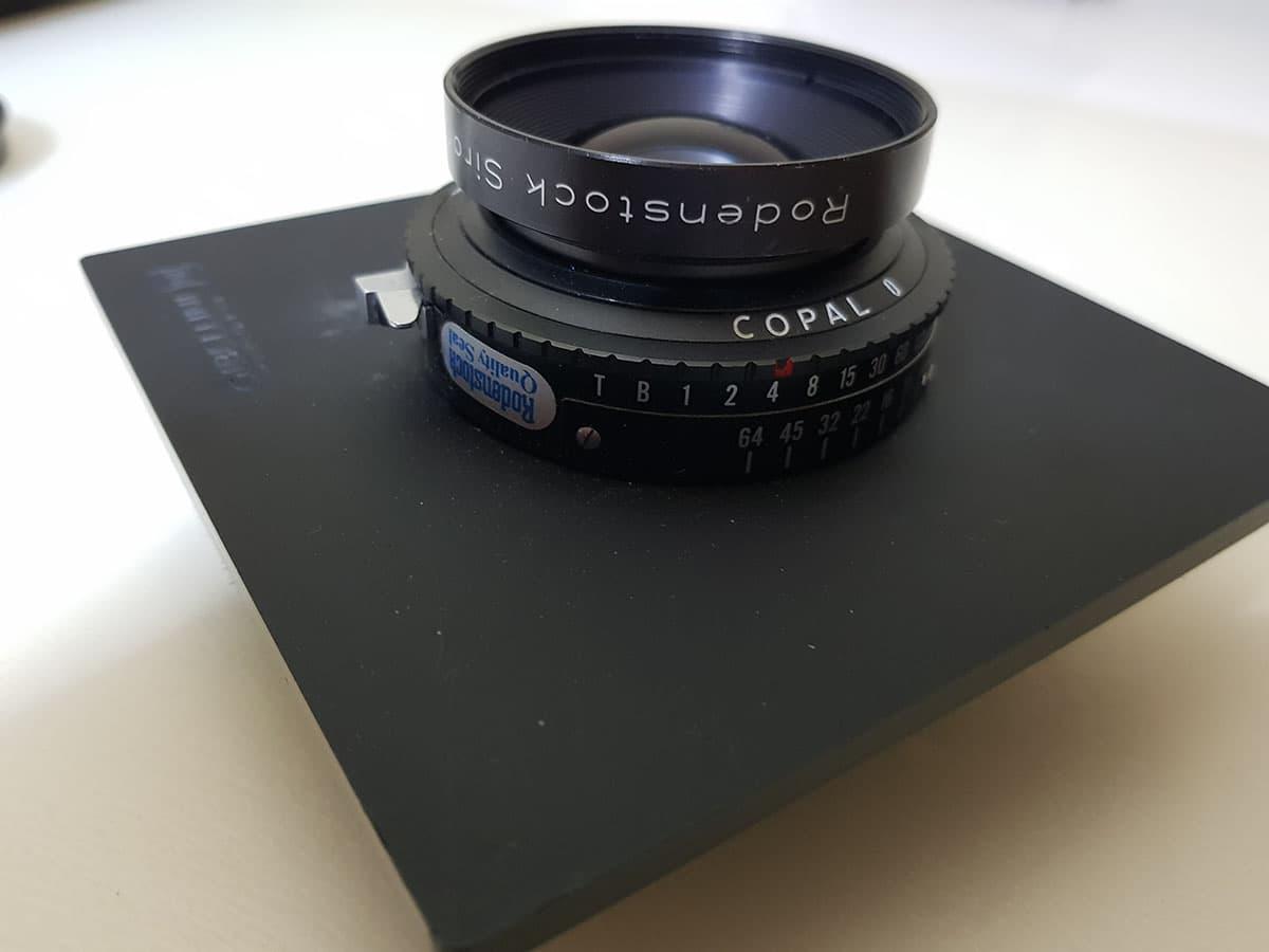 large format 150mm rodenstock lens